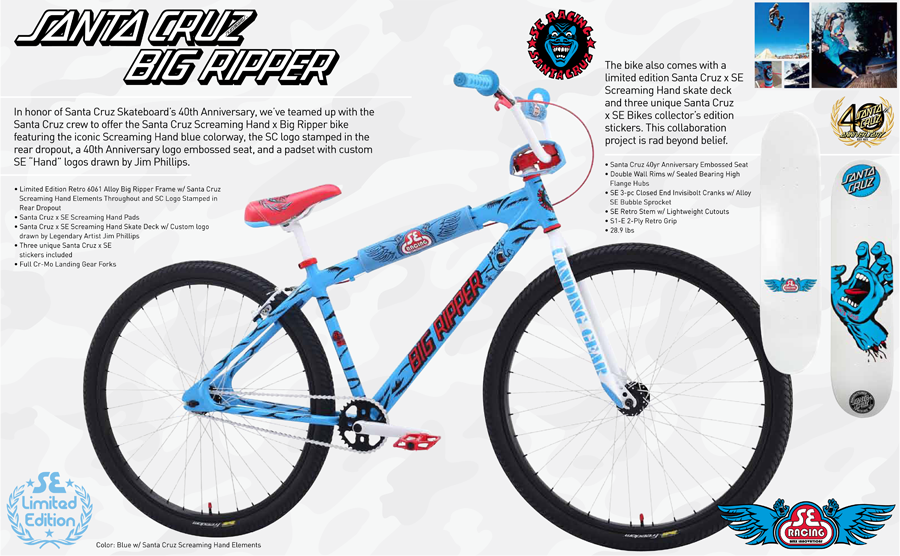 Bikes Catalog SE Bikes has teamed up